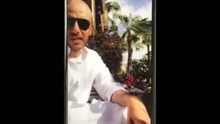 ماجد الصباح بالدشداشة في المغرب بعد فقدان شنطته على «الخطوط السعودية»