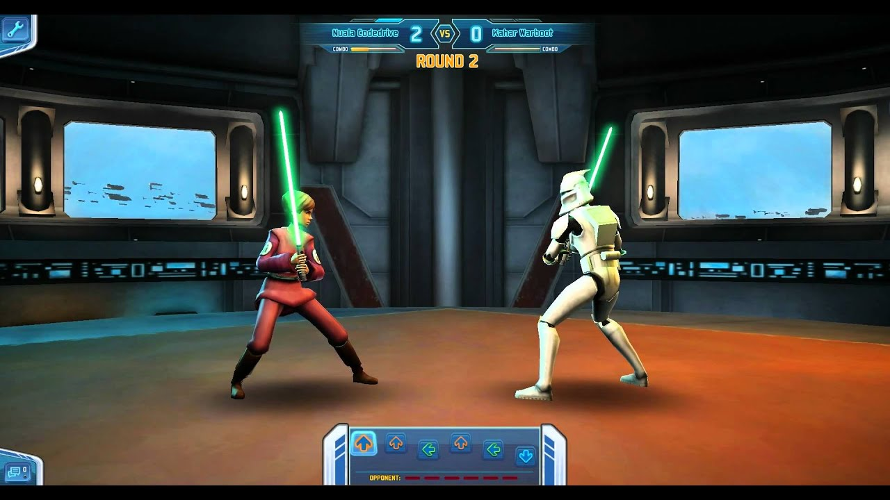 Clone Wars Adventures - Lightsaber Duel - YouTube