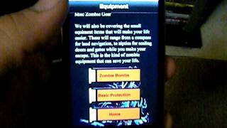 Zombie Survival Guide App