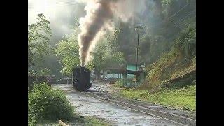 Steam of Tipong Coal Mines Railway  India(Apr.2008) 5 インド ティポン炭鉱鉄道の蒸気機関車(2008年4月) 5
