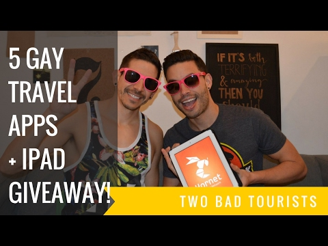 5 Gay Travel Apps You Should Download + IPad Giveaway