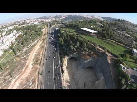 09 Tel Aviv To Jerusalem Highway, Aerial כביש 1 ירושלים