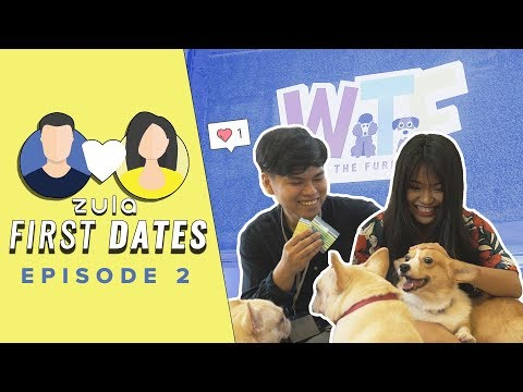 Visiting A Dog Cafe With Rainier & Yoke Cheng    ZULA First Dates: EP2