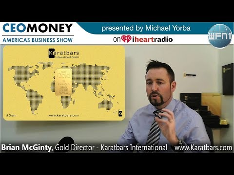 Brian McGinty from Karatbars International on CEO Money
