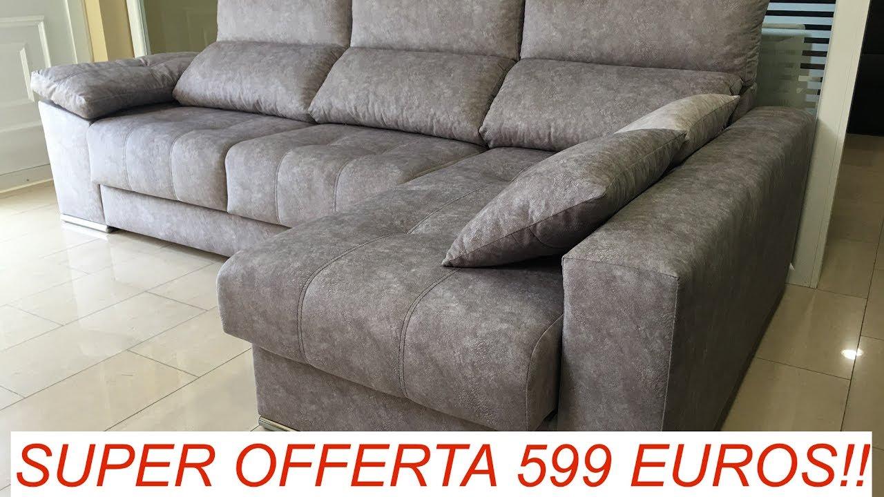 Sofas de oferta rebajas verano with sofas de oferta for Cheslong dos plazas