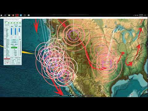 4/18/2018 -- Europe to USA -- Earthquakes caused by seismic pressure transfer -- OVER JUST DAYS TIME