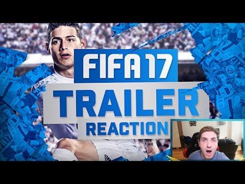 FIFA 17 TRAILER REACTION!
