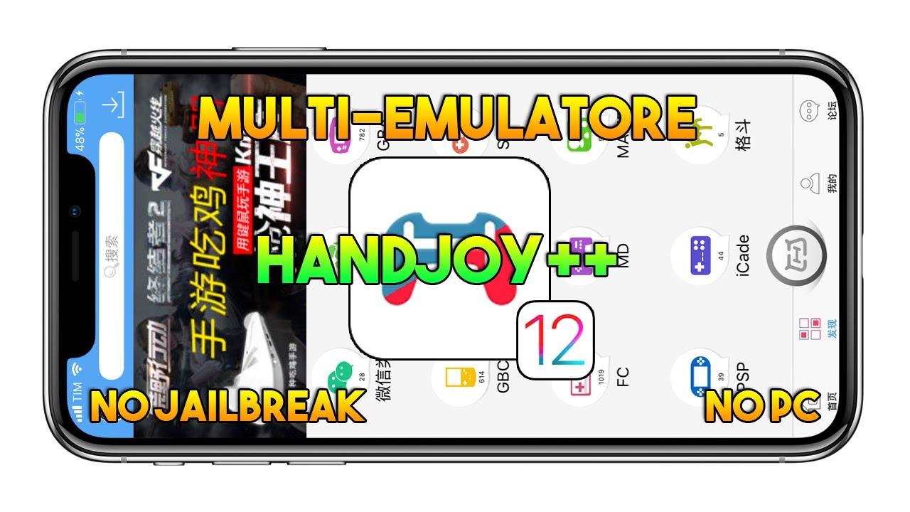 Multi-Emulatore PSP, GBA, GBC, NDS, SFC & More (IOS 12 1 2) - Handjoy ++  (NO JAILBREAK) - App IOS by ERMEVO' S