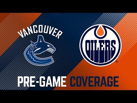 ARCHIVE | Oilers Pre-Game Interviews vs. Canucks