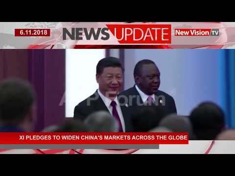 XI pledges to widen China's markets across the globe