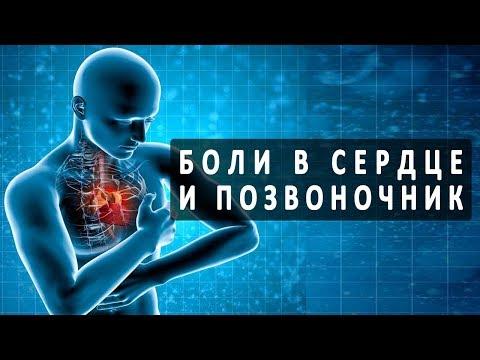 Болит сердце со спины