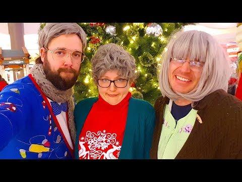 Reverse Christmas Caroling!