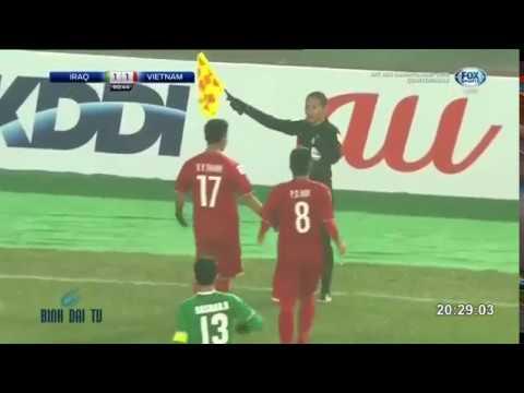 U23 Châu Á 2018: U23 Việt Nam - U23 Iraq (Hiệp phụ và Penaty)