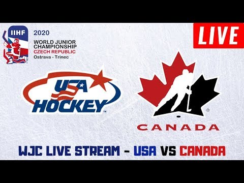 USA Vs Canada World Juniors Live Stream | Preliminary Round | WJC Play By Play And Reactions