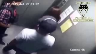 Video Muggers Beat and Rob Woman in Elevator download MP3, 3GP, MP4, WEBM, AVI, FLV Agustus 2017