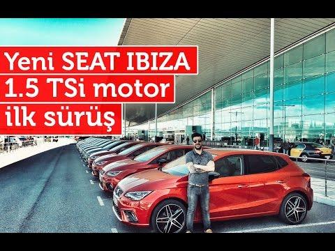 2017 Seat Ibiza // 1.5 TSi-EVO yeni motor // İlk sürüş