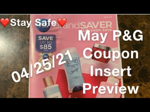 What coupons are we getting? May P&G Coupon Insert Preview #beautifulqueen