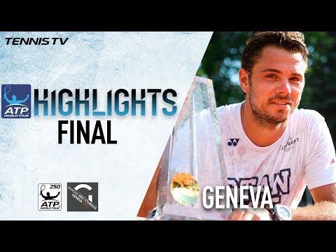 Вавринка завоевал титул в Женеве, одержав в финале волевую победу над Зверевым