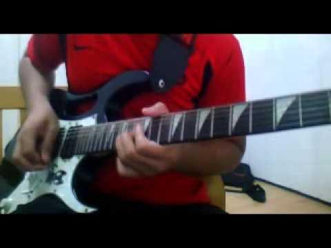 Azim Rahman Zivilia-Aishiteru 2 guitar solo cover