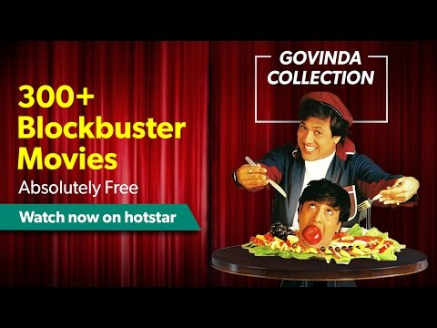 Govinda Movies Collection - Watch classic Govinda films for Free on hotstar.