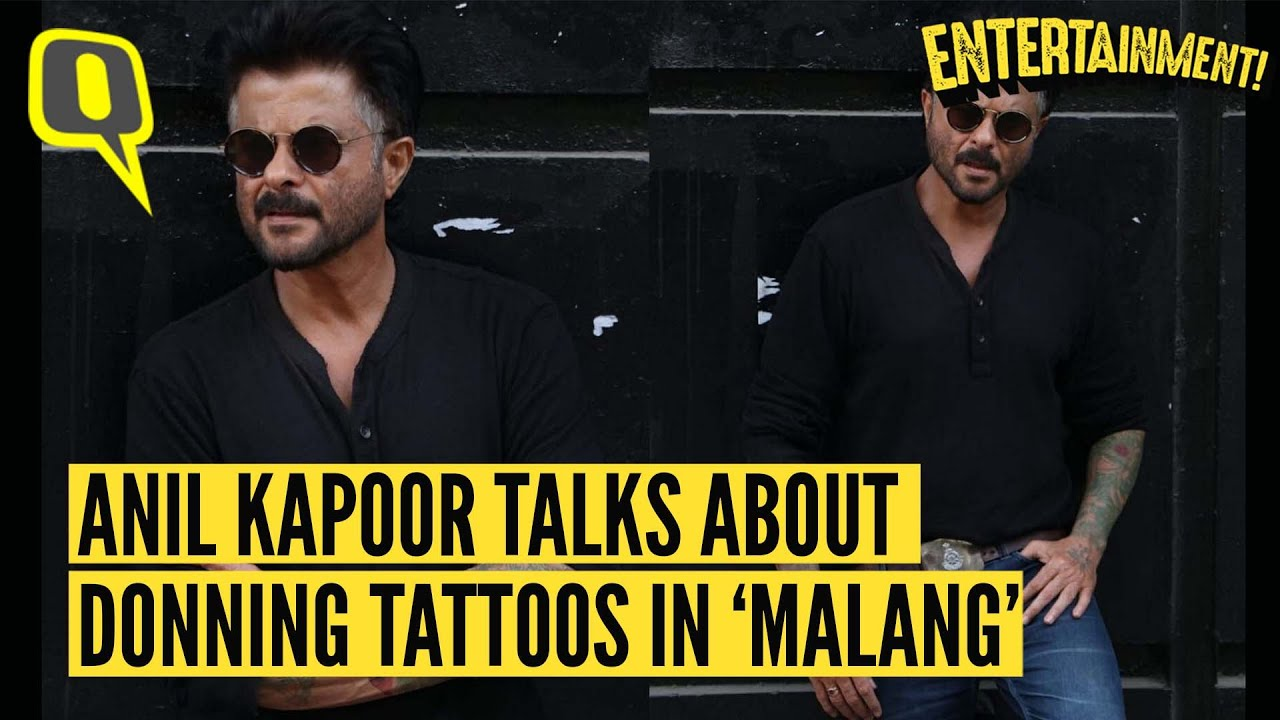 Here S Why Anil Kapoor Never Got A Tattoo Done In Real Life The Quint Youtube