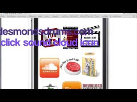 DesmondsDrums.com Hack all my drum beats/samples for iPhone -Android or Anything