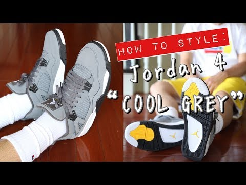 "how-to-style---air-jordan-4-""cool-grey""-on-feet---3-casual-outfits"