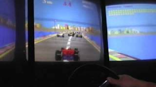 Atari arcade driving game TX-1 (gameplay)