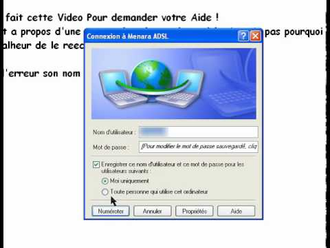 adsl menara pour windows 7