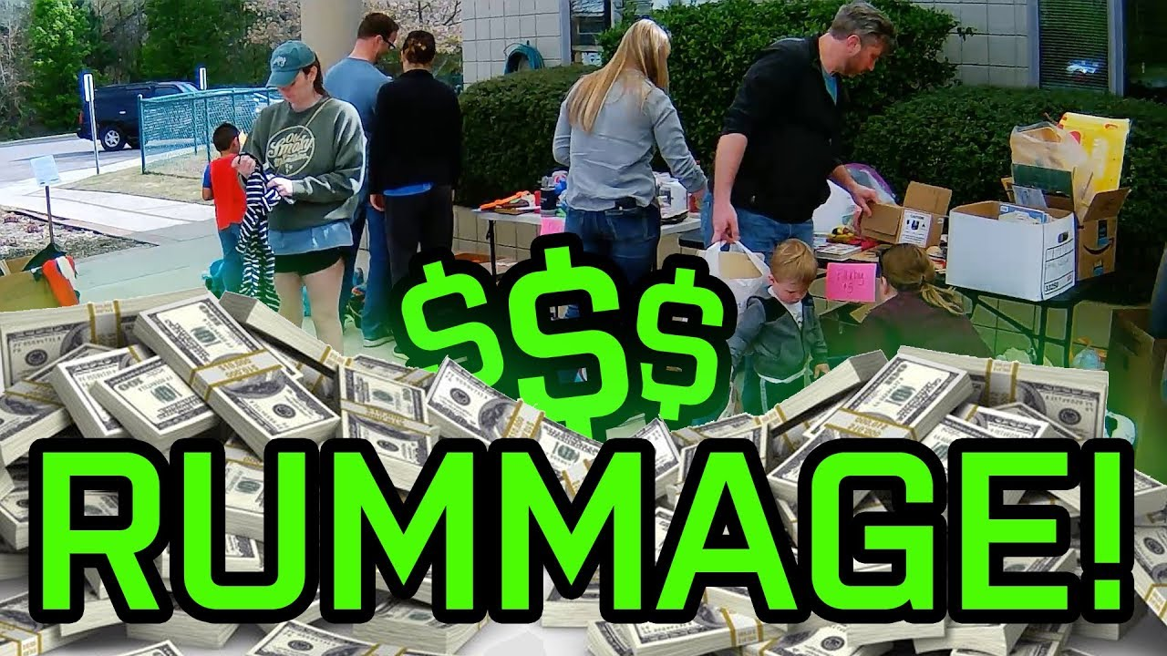 Undercover Yard Sale 3-30-2019 RUMMAGE SALES