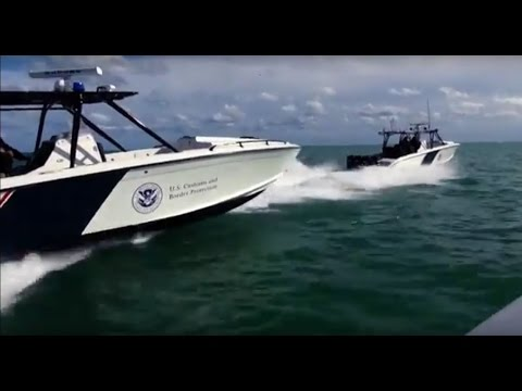 US Customs and Border Patrol Air and Marine Securing the Mar