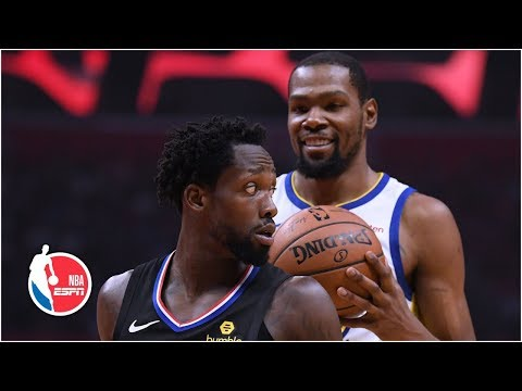 Kevin Durant, Warriors dominate Patrick Beverley and Clippers in Game 3 | NBA Highlights