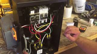 How to Build a Rotary Three Phase Converter with details & parts