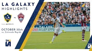 HIGHLIGHTS: LA Galaxy vs. Colorado Rapids | October 30, 2016 thumbnail