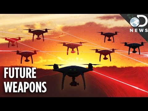 The Future Of Warfare: Laser Cannons & Drone Armies