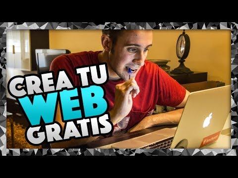 Cómo crear una página web GRATIS