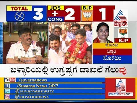 DK Shivakumar's Analysis On Ballari By-Poll Results & Exclusive Interview
