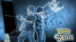 JOHNNY THE SKULL   Игра Скелетончик Джонни, попади в призраков