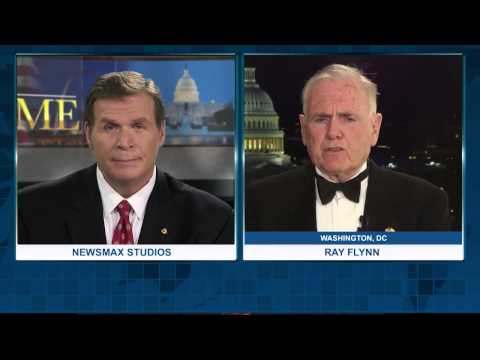 Newsmax Prime   Ray Flynn discusses the Vatican recognizing Palestine as a State