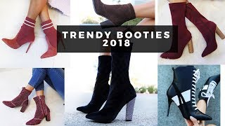 5 Trendy Booties Fall/Winter 2018, How to Style Ankle Boots