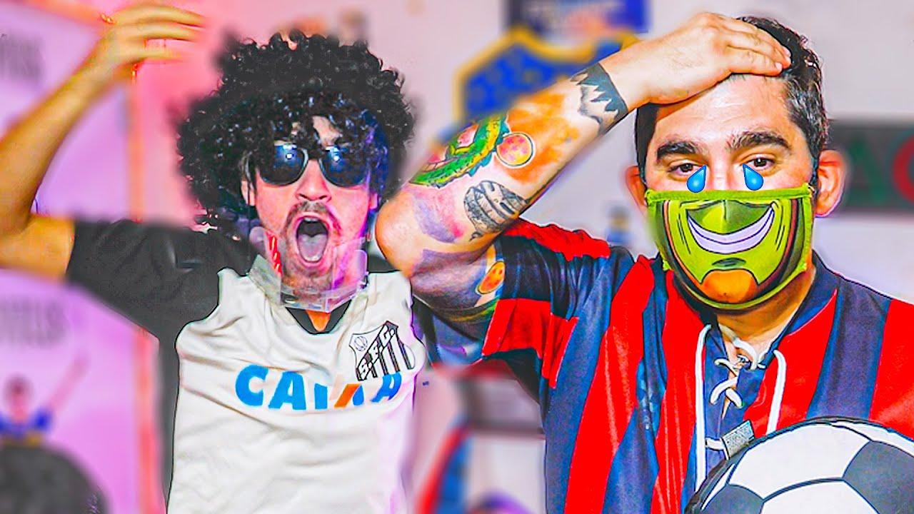 Reacciones de Amigos | Santos vs San Lorenzo | Fase 3 VUELTA Copa Libertadores 2021