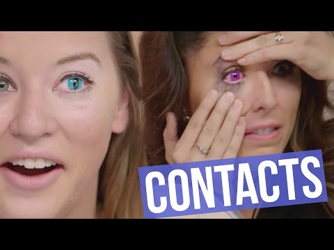 5 Creepy Colored Contact Lenses for HALLOWEEN (Beauty Break)