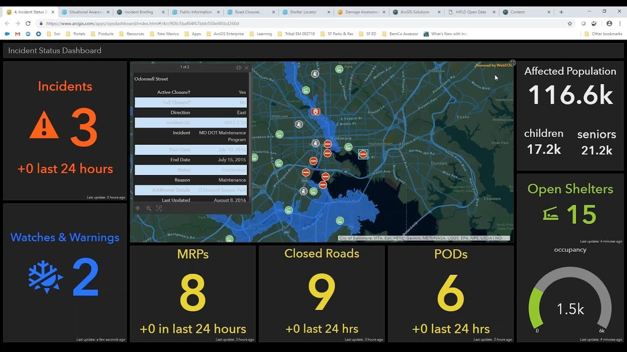 Responding to Emergencies Swiftly and Safely Video | Esri