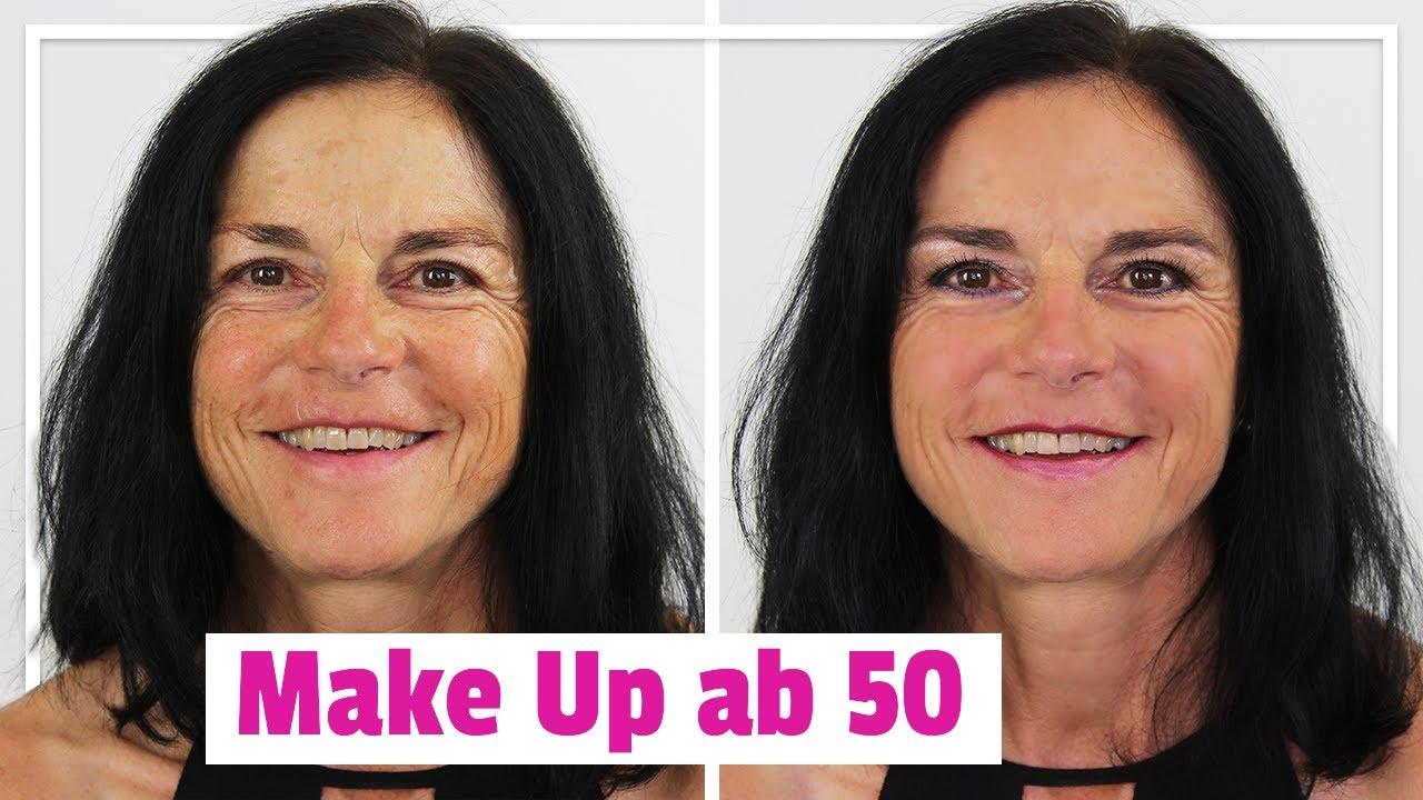 Make Up Ab 50 Braune Augen Schminken Youtube