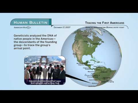 Science Bulletins: Tracing the First Americans