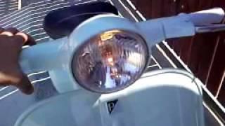vespa 50 prima serie 1964. acceso