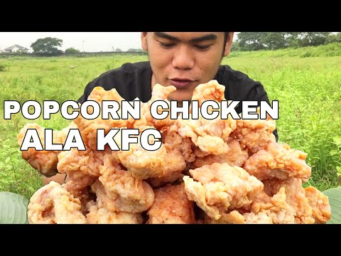 OUTDOOR COOKING | POPCORN CHICKEN ALA KFC