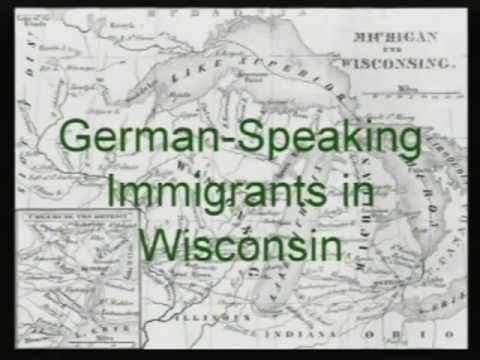 German-Speaking Immigrants in Wisconsin