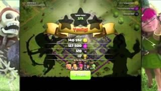 Clash Of Clans Oynuyoruz #60: Bol Ganimet Gecesi!