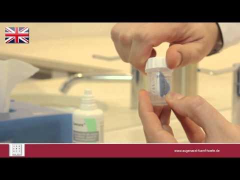 Ophthalmologist munich Dr. Zarth contact lenses Lens Timer App